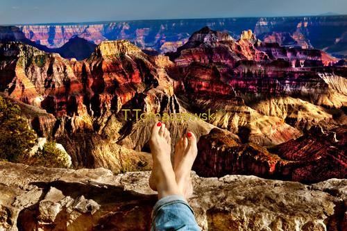 Wielki Kanion Rzeki Kolorado. Great Canyon Colorado, Arizona.