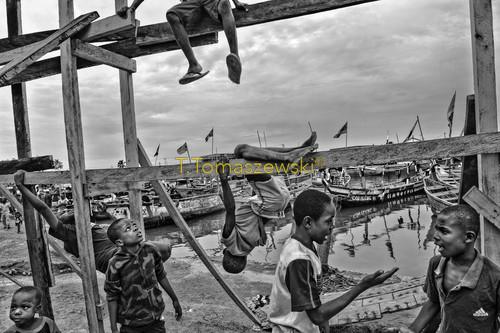 Port rybacki w Elminie, Ghana