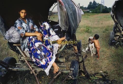 Z cyklu Cyganie, inni ludzie tacy sami jak my. Rumunia